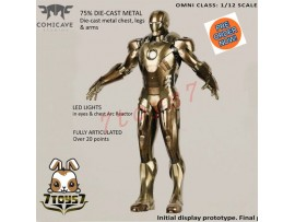 [Pre-order] Comicave Studios 1/12 Iron Man Midas ( Mark 21 )_ Box Set _CV009Z