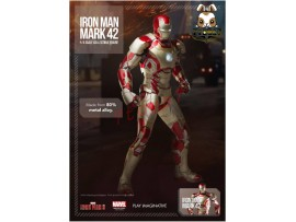 Comicave Studios 1/4 Iron Man Mark 42_ Box Set _Die cast Now PI008Z