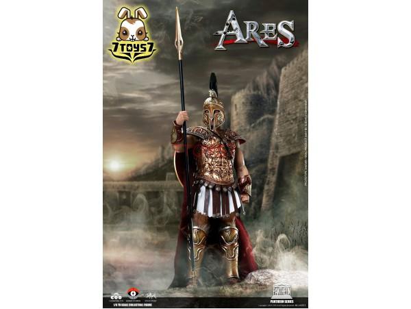 Coo Model x Homer 1/6 HS003 Pantheon - Ares God of War_ Box _die-cast CL072X