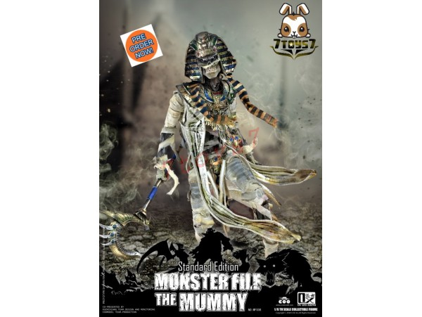 [Pre-order] COO Model x Ouzhixiang 1/6 Monster File Series - The Mummy_ Box Set _CL054Z