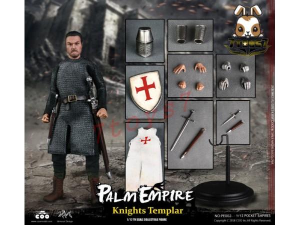COO Model 1/12 PE002 Pocket Empires - Templar Knights_ Box _CL048Y