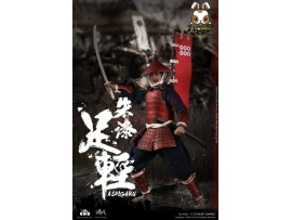 COO Model 1/12 PE008 Pocket Empires - Red Armor Ashigaru_ Box _CL053Y