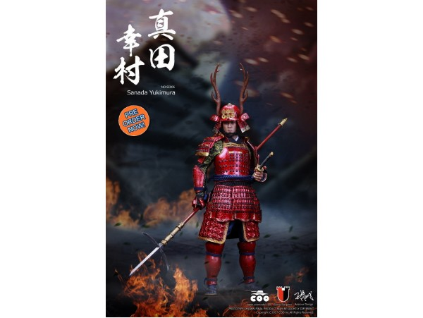 [Pre-order] COO Model 1/6 SE006 Series of Empires: Japan's Warring States - Sanada Yukimura_ Box _CL037Y