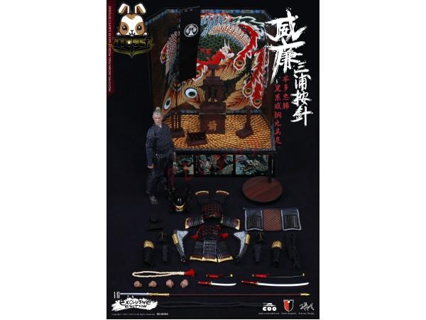 COO Model 1/6 SE016 William Adams (Miura Anjin) Honda Tadakatsu Gusoku_ Exclusive Box _Samurai Now CL043Z