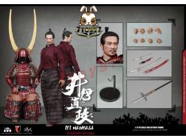 COO Model 1/6 SE028 Series of Empires - Ii Naomasa: The Scarlet Yaksha_ Box Set _Japanese Samurai CL049Z