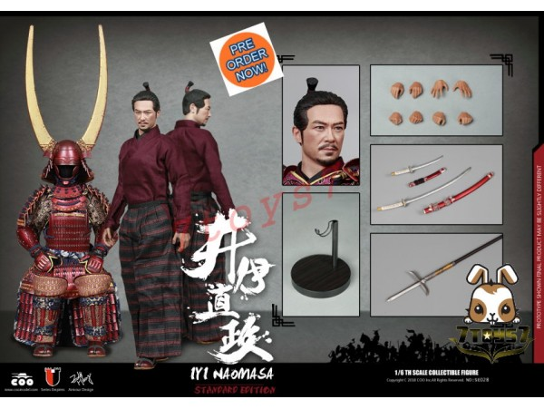[Pre-order] COO Model 1/6 SE028 Series of Empires - Ii Naomasa: The Scarlet Yaksha_ Box Set _Japanese Samurai CL049Z