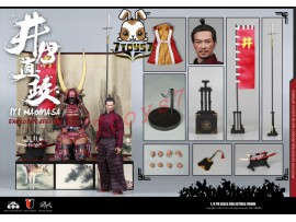 COO Model 1/6 SE029 Series of Empires - Ii Naomasa: The Scarlet Yaksha_ Deluxe Box Set _Japanese Samurai CL049Y