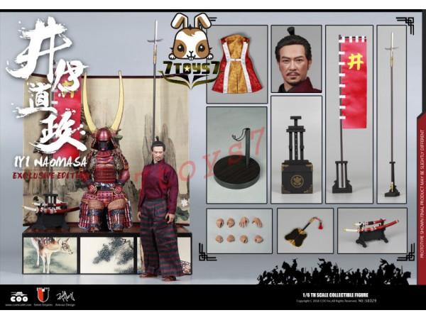 COO Model 1/6 SE029 Series of Empires - Ii Naomasa: The Scarlet Yaksha_ Deluxe Box Set _Japanese Samurai CL049Y