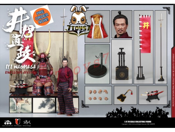 [Pre-order] COO Model 1/6 SE029 Series of Empires - Ii Naomasa: The Scarlet Yaksha_ Deluxe Box Set _Japanese Samurai CL049Y