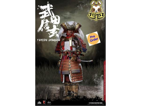 [Pre-order deposit] COO Model 1/6 SE039 Series of Empires: Takeda Shingen A.K.A. Tiger of Kai_ Standard Box _CL057Z
