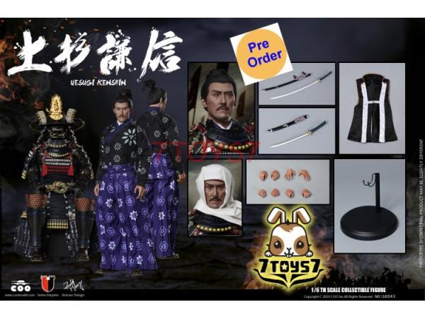 [Pre-order] COO Model 1/6 SE043 Series of Empires: Uesugi Kenshin The Dragon of Echigo_ Standard Box _CL059Y