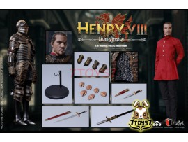 COO Model 1/6 SE045 Series of Empires - King Henry of England_ Lion version Box _CL062X