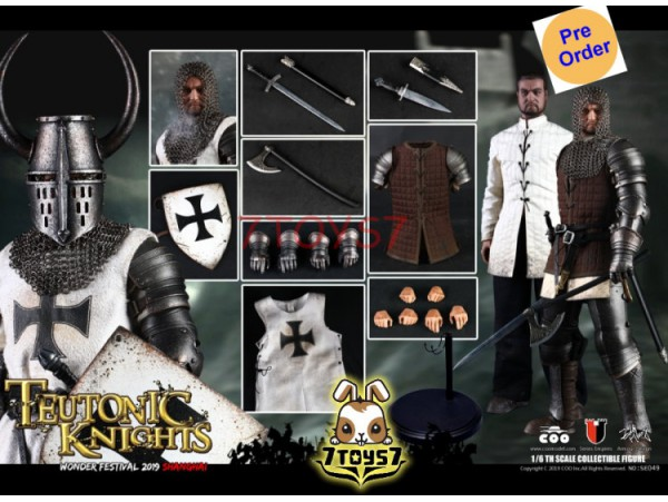 [Pre-order deposit] COO Model 1/6 SE049 WF 2019 The Crusader - Teutonic Knight_ Exclusive Box Set _CL063Y
