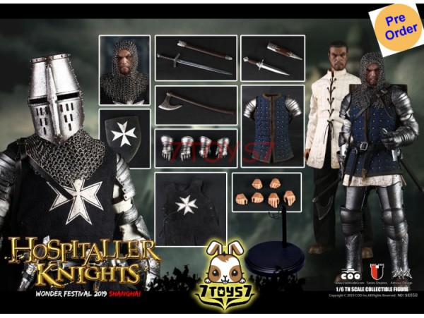 [Pre-order] COO Model 1/6 SE050 WF 2019 The Crusader - Hospitaller Knight_ Exclusive Box Set _CL063Z