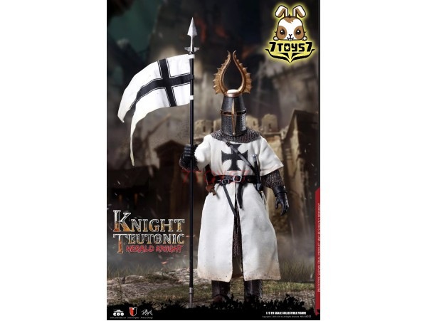 COO Model 1/6 SE055 Diecast Herald of Knights Teutonic_ Box _CL067Z