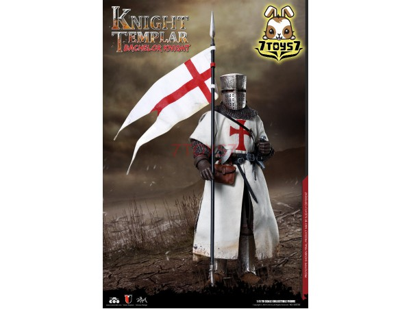 COO Model 1/6 SE056 Diecast Bachelor of Knights Templar_ Box _CL068Z