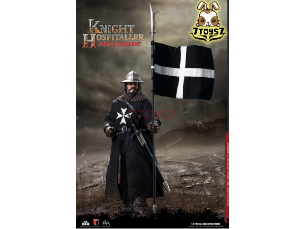 COO Model 1/6 SE057 Diecast Sergeant of Knights Hospitaller_ Box _CL069Z