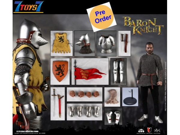 [Pre-order deposit] COO Model 1/6 SE066 Series of Empires: Baron Knight_ Box Set _CL076B