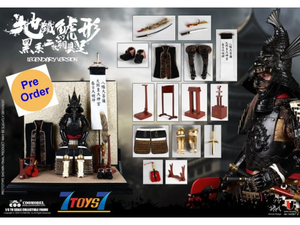 [Pre-order deposit] Coo Model 1/6 SE087 Series Of Empires - The Black Fish Two Piece Armor Legendary_ Box _CL084X