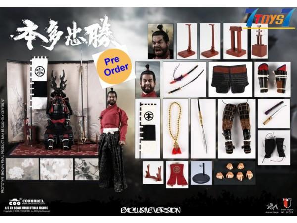 [Pre-order deposit] COO Model 1/6 SE091 Honda Tadakatsu - The Strongest Warrior_ Deluxe Box _CL087Y