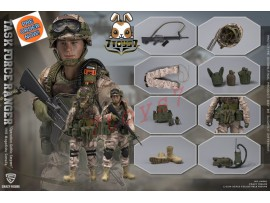 "[Pre-order] Crazy Figure 1/12 LW001 Chalk Leader 75th Ranger - TASK FORCE RANGER ""Operation Gothic Serpent"" 1993 Mogadishu Somalia_ Figure Set _CRZ001Z"