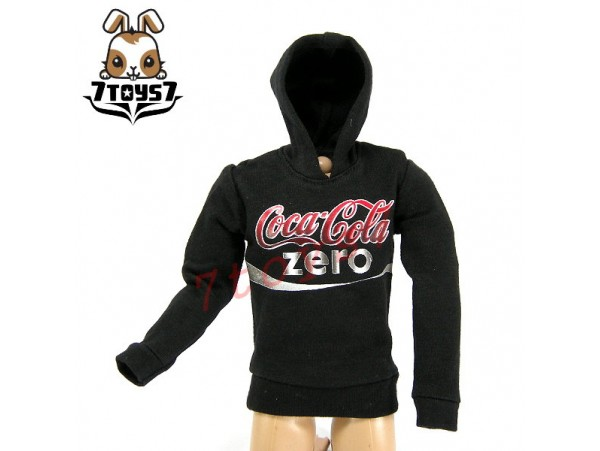 Crazy Owners 1/6 Coke Hoodies_ Black _ CO031D
