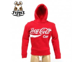 Crazy Owners 1/6 Coke Hoodies_ Red _ CO031E