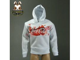 Crazy Owners 1/6 Coke Hoodies_ White _ CO031F