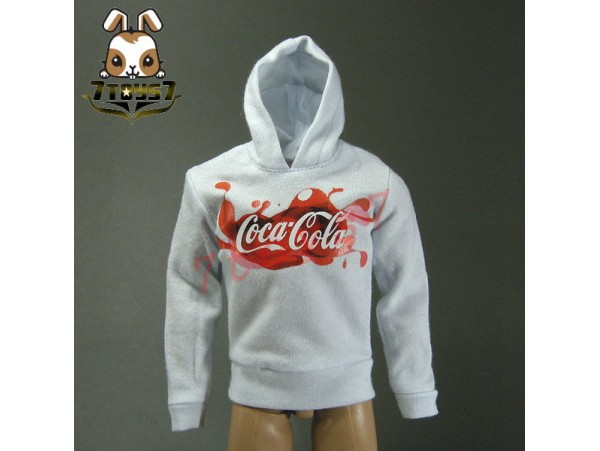 Crazy Owners 1/6 Coke Hoodies_ White _ CO031F