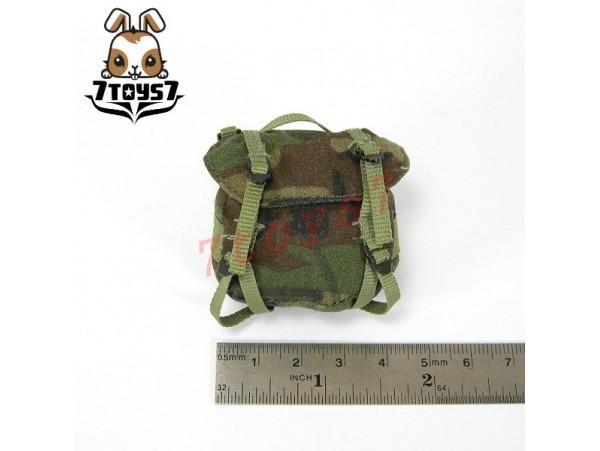 Custom 1/6 Army Woodland Tri-color Camo Pouch _US Army Now  CSX06A