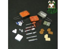Custom 1/6 Armoury Ration_ Mess Kit Set _food military CS048A