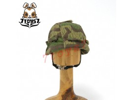 Dragon 1/6 WWII German Army_ Helmet w/ camo cover _Germany H704