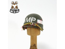 Dragon 1/6 WWII US Army_ MP Helmet _H708