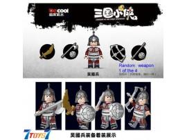 Custom Decool Minifig Courage of the Three Kingdoms_ Wu Soldier _no box CS087B