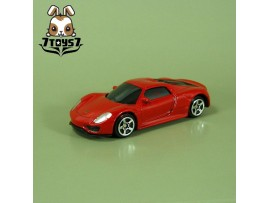 Custom License Die-Cast Miniature : Porsche 918 Spyder _model car CS065C