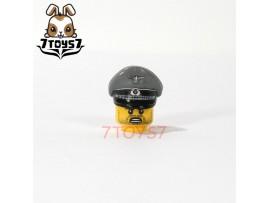 Custom Minifig German WWII Headwear_ Grey Army Visor Cap _Brick CS079C