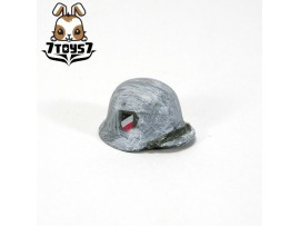 Custom Minifig German WWII Headwear_ M42 Helmet Winter _ Custom Brick CS013E
