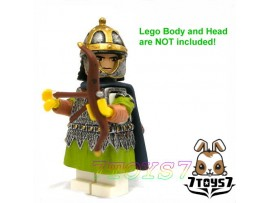 Custom Minifig Roman Legion _ Archer : Armor + Arrows Rome Legionary _CS014A