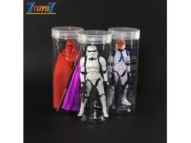 Clear Vinyl Protector Bottle #A x 6 _Display Star Wars Black Series figure CS089AB