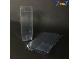 Clear Vinyl Protector Accessories Case #A x 10 _for Star Wars Black figure CS088A