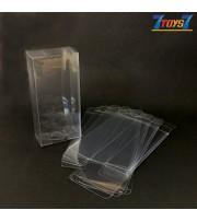 Clear Vinyl Protector Accessories Case #B x 10 _for Star Wars Black figure CS088BB