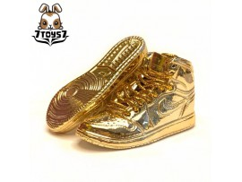 Custom 1/6 Sneaker - Kz-002_ shoes _Gold CS077G