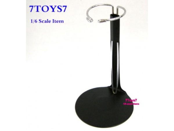Custom 1/6 Figure Display Stand_ U Black Stand _Waist support Now CS001B