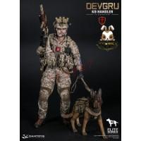 DAM Toys 1/6 78040 DEVGRU K9-handler in Afghanistan_ Box Set w/ dog _Now DM086Z