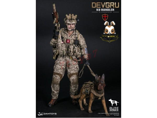 DAM Toys 1/6 78040 DEVGRU K9-handler in Afghanistan_ Box Set w/ dog _Now DM086Z