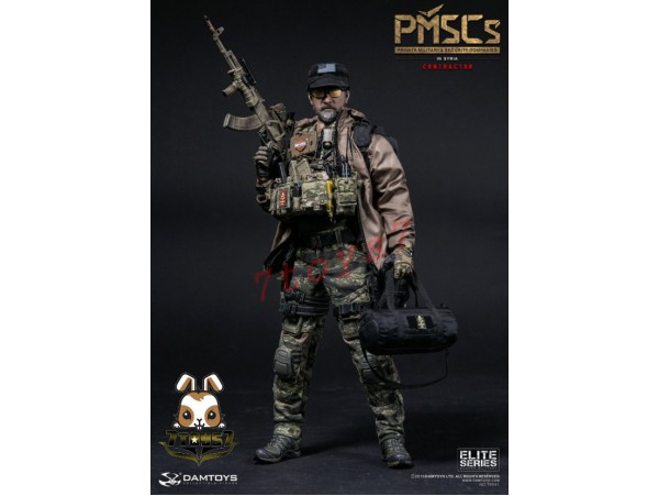 DAM Toys 1/6 78041 PMSCs Contractor in Syria_ Box Set _DM085Z