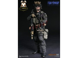 DAM Toys 1/6 78044B FBI SWAT Team Agent - SAN DIEGO Midnights Ops_ Box Set _Now DM091Z