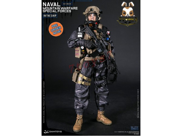 [Pre-order] DAM Toys 1/6 78051 Naval Mountain Warfare Special Forces_ Box Set _DM100Z