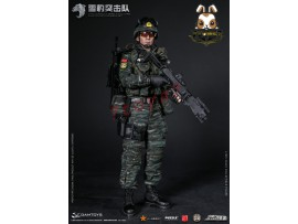 DAM Toys 1/6 78052 PAP Snow Leopard Commando Unit Team Member_ Box Set _DM101Z