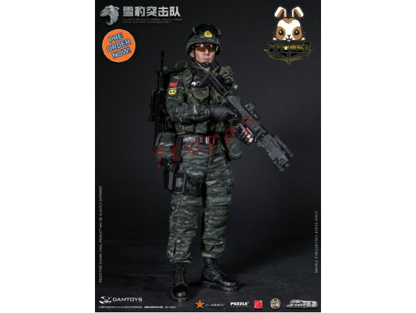 [Pre-order] DAM Toys 1/6 78052 PAP Snow Leopard Commando Unit Team Member_ Box Set _DM101Z